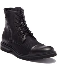 Kenneth Cole Reaction - Daxten Leather Lace-up Boot - Lyst