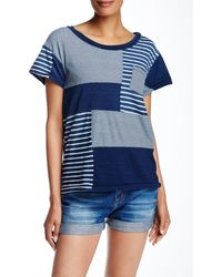Current/Elliott - The Seamed Pocket Tee - Lyst