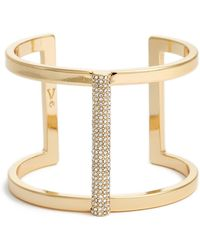 Vince Camuto - Pave T-cuff - Lyst