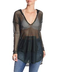 Green Dragon - Nice Catch Fishnet Cover-up - Lyst