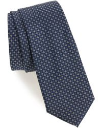 Calibrate - One Way Neat Silk Tie - Lyst
