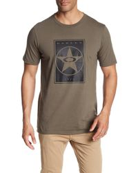 Oakley - 50 Knock Out Star Tee - Lyst