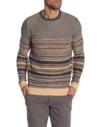 Lindbergh - Jacquard Knit Sweater - Lyst