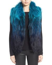 Tasha Tarno - Fox Fur Vest - Lyst
