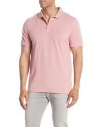 Wallin & Bros. - Short Sleeve Pique Polo Shirt - Lyst