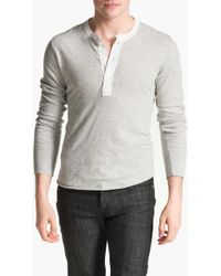 Todd Snyder - Classic Henley - Lyst