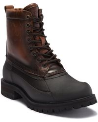 Frye - Alaska Lace-up Waterproof Leather Genuine Shearling High-top Boot - Lyst