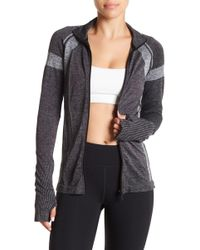 HPE - Cross X Seamless Zip Up Jacket - Lyst