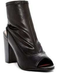 Rampage - Tionna Peep Toe Ankle Boot - Lyst