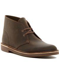 Clarks - Bushacre 2 Leather Chukka Boot - Lyst