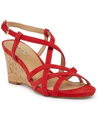 Tahari - Future Wedge Sandal - Lyst