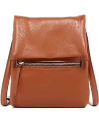 Perlina - Ellena Leather Crossbody - Lyst