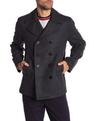 Michael Kors - Double Breasted Peacoat - Lyst