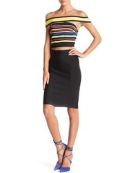 Wow Couture - Off-the-shoulder Top & Skirt 2-piece Set - Lyst