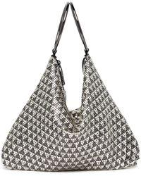 Whiting & Davis - Deco Triangles Bracelet Bag - Lyst