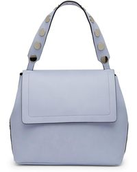 French Connection   Celia Top Handle Flap Bag   Lyst