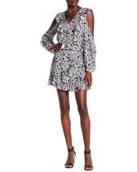 Parker - Floral Ruffle Wrap Skirt - Lyst
