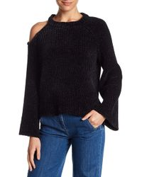 1.STATE - Knit Bell Sleeve Exposed Shoulder Jumper - Lyst