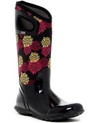 Bogs - Hampton Pom Pon Waterproof Rain Boot - Lyst