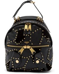 Moschino | Studded Leather Backpack | Lyst