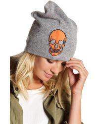 Skull Cashmere - Beanie - Lyst