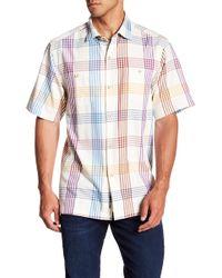 Tommy Bahama - Mo' Rockin' Plaid Original Fit Short Sleeve Shirt - Lyst