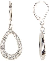 Judith Jack - Sterling Silver Shine On Teardrop Earrings - Lyst
