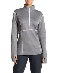 Obermeyer - Contrast Stitched Fleece Pullover - Lyst