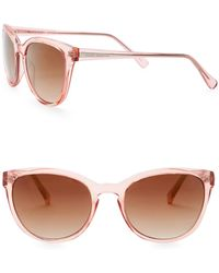 Vince Camuto - Cat Eye 53mm Acetate Frame Sunglasses - Lyst