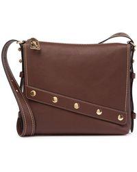 Marc Jacobs - Downtown Stud Leather Shoulder Bag - Lyst