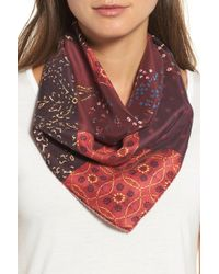 Treasure & Bond - Paisley Meadow Square Silk Scarf - Lyst