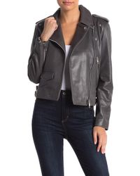 Walter Baker - Liz Lamb Leather Jacket - Lyst