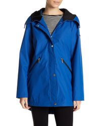 French Connection - Storm Flap Slicker Jacket - Lyst