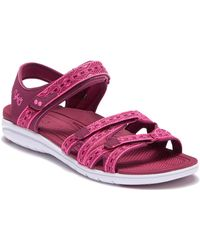 Ryka - Savannah Strappy Sandal (women) - Wide Width Available - Lyst