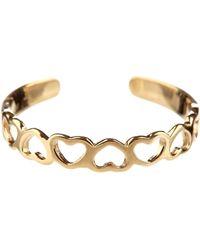KARAT RUSH - 14k Yellow Gold Cutout Heart Cuff Adjustable Toe Ring - Lyst