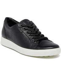 Ecco - Soft 7 Perforated Sneaker - Lyst