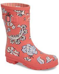Joules - 'molly' Rain Boot (women) - Lyst