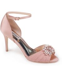 Badgley Mischka - Sabrina Embellished Stiletto Pump - Lyst