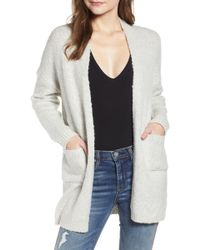 Dreamers By Debut - Pocket Long Cardigan - Lyst