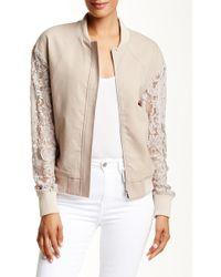 Thomas Wylde - Pine Lace Sleeve Jacket - Lyst