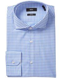 BOSS - Jery Slim Fit Dress Shirt - Lyst