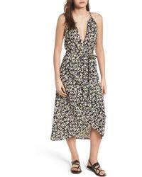 Billabong - Aloha Babe Print Midi Dress - Lyst