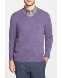 John W. Nordstrom - Cashmere V-neck Jumper (regular & Tall) - Lyst