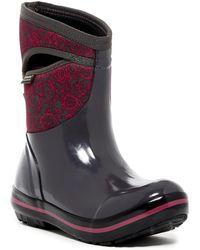 Bogs - Plimsoll Mid Quilted Waterproof Rain Boot - Lyst