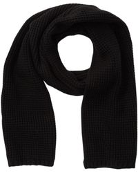 Cole Haan - Thermal Stitch Rib Muffler - Lyst