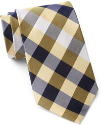 Tommy Hilfiger - Silk Multi Sized Gingham Xl Tie - Lyst