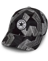 Converse - Scattered Stripe Baseball Cap - Lyst
