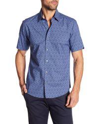 Zachary Prell - Machnee Short Sleeve Modern Fit Shirt - Lyst