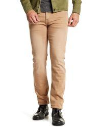 "William Rast - Dean Slim Straight Twill Trousers - 32"" Inseam - Lyst"