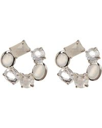 Ippolita - Rock Candy Mixed Stone Circle Earrings - Lyst